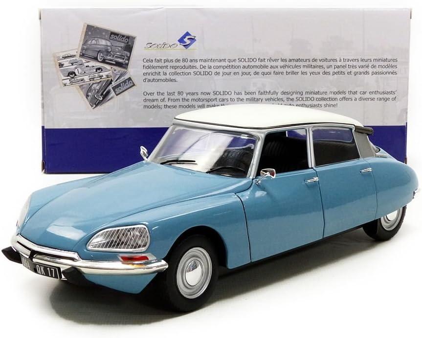 in miniatura modello in scala 1: 18/auto SOLIDO 421184180/CITROEN DS Special 1972 Blu