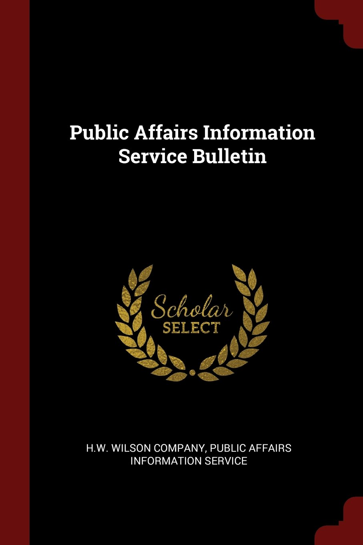 Download Public Affairs Information Service Bulletin pdf