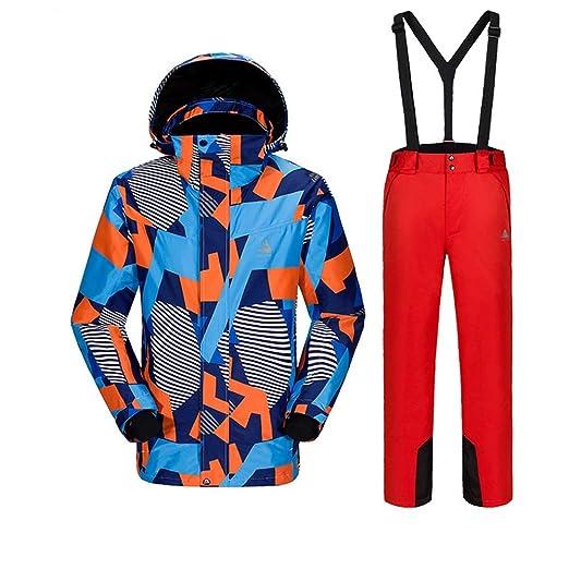 ChenYongPing Chaqueta de esquí Chaqueta y pantalón de esquí para ...