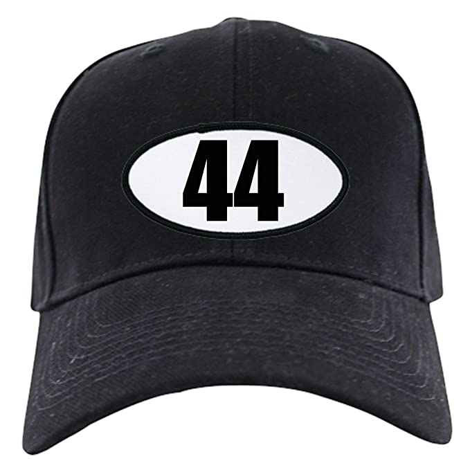 3e608b7db CafePress - Barack Obama - 44 Black Cap - Baseball Hat, Novelty Black Cap