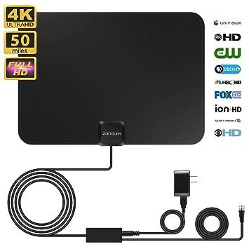 Amazon.com: Antena de TV para interiores 2019, antena ...