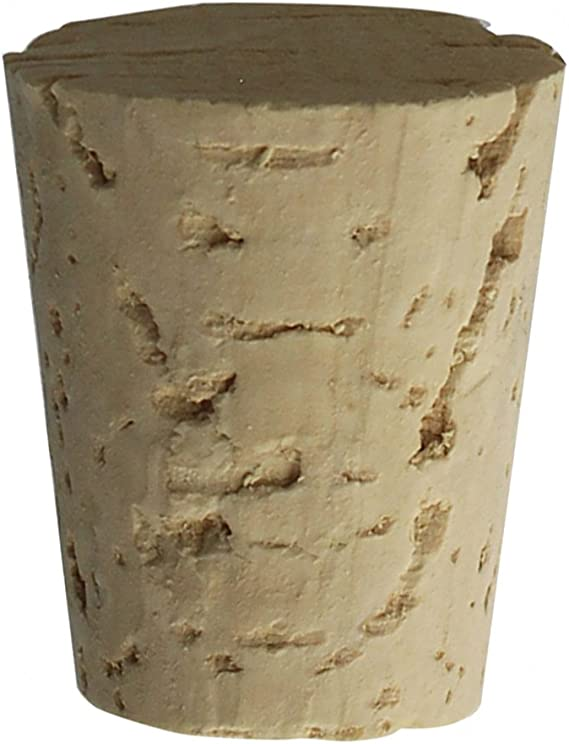 Tapered Cork Stoppers Size 12 Lot Of 50