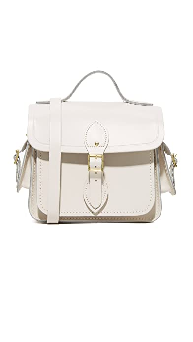 2dc7e7ff439 Cambridge Satchel Women s Traveler Bag with Side Pockets, Clay, One Size