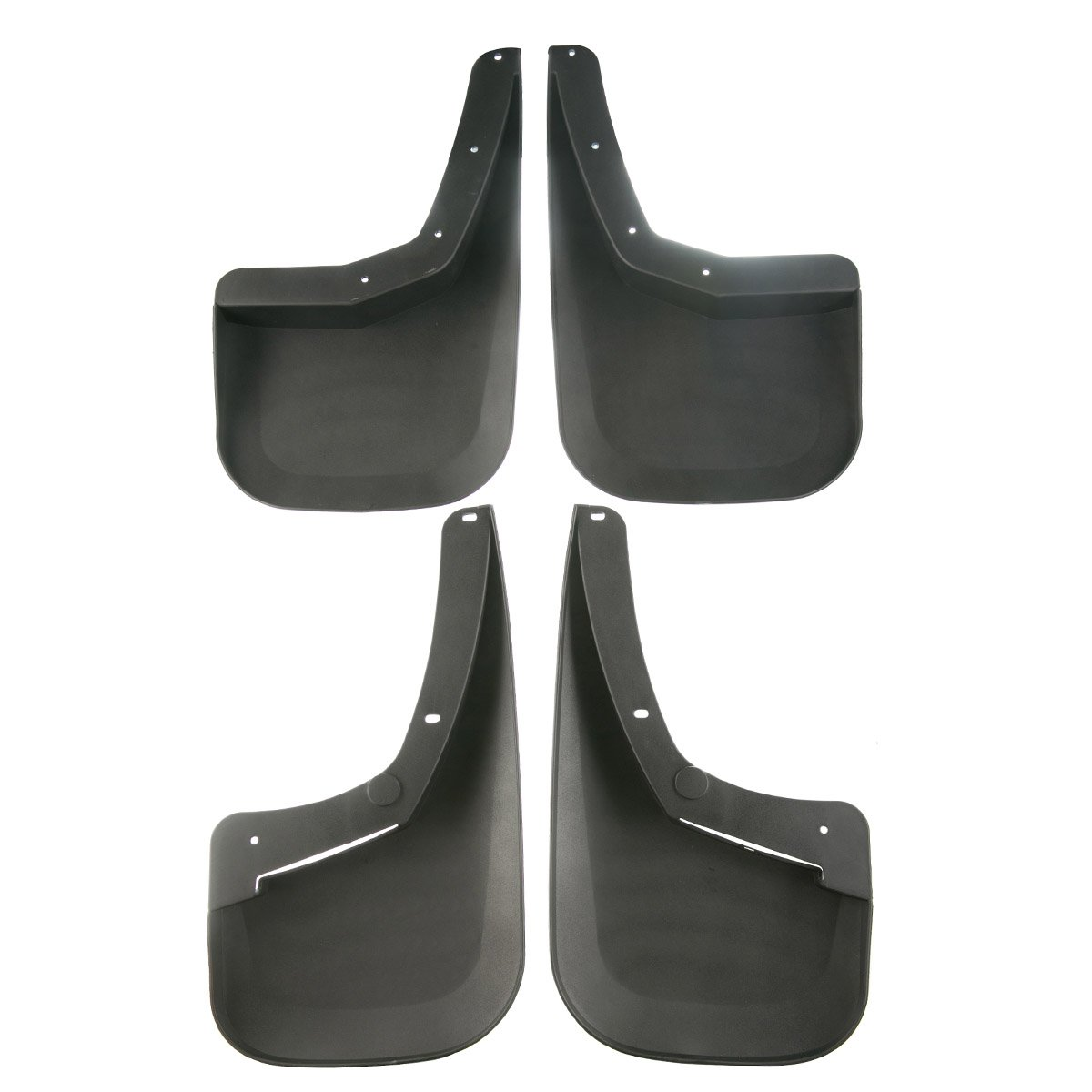 Set of 4 Mud Flaps Splash Guards for Chevrolet Silverado/1500 2500 HD 3500 HD 2007-2013 Single/Rear/Wheels/only YTAUTOPARTS