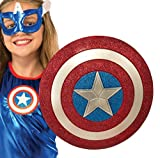 Rubie's Costume Captain America American Dream 12-Inch Glitter Shield Costume