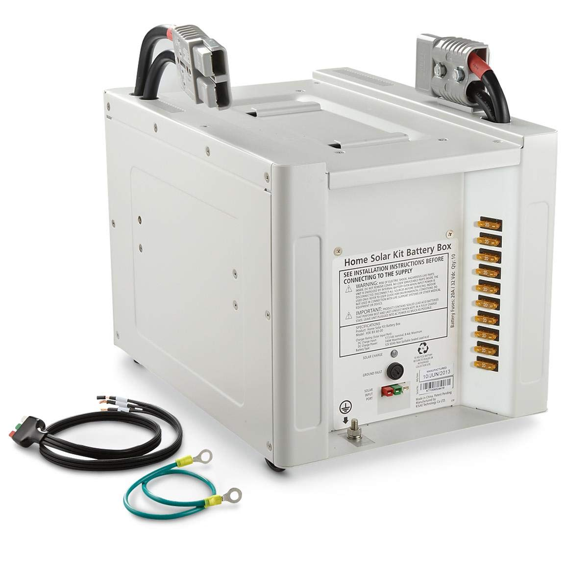 Nature Power Solar Battery Bank 1800 Watt Home Wiring Automotive