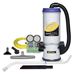 ProTeam Super CoachVac Commercial Backpack Vacuum Cleaner