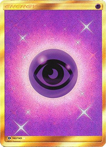 Psychic Energy - 162/149 - Secret Rare - Pokemon Sun & Moon (Best Psychic Pokemon Sun)