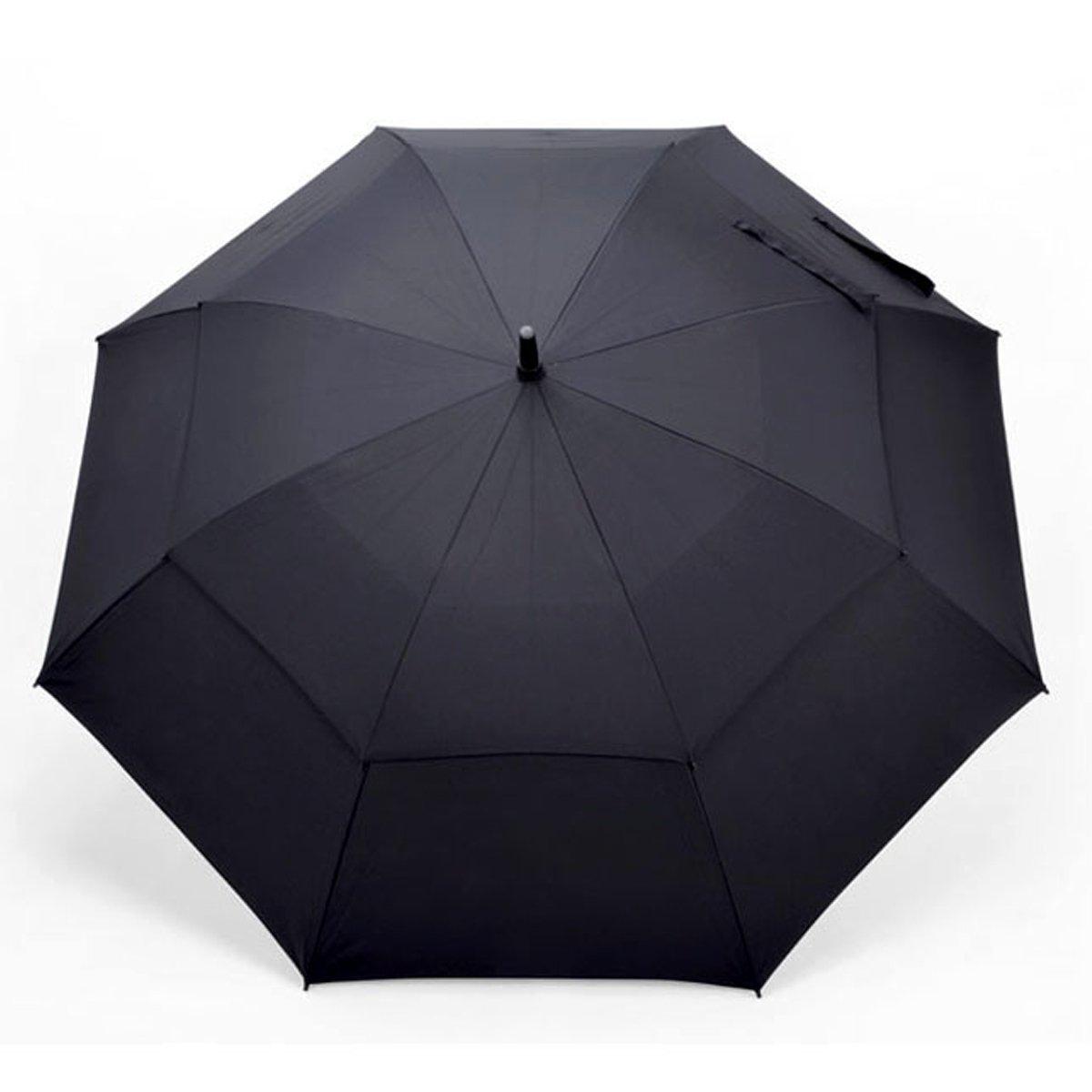 Vilapur Automatic Open Golf Umbrella(VP-03-001), Extra Large Umbrella Oversize Double Canopy Vented Windproof Waterproof Stick Umbrellas
