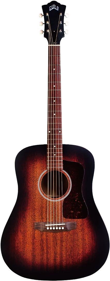 Guild D-20 Dreadnought, guitarra acústica,: Amazon.es ...