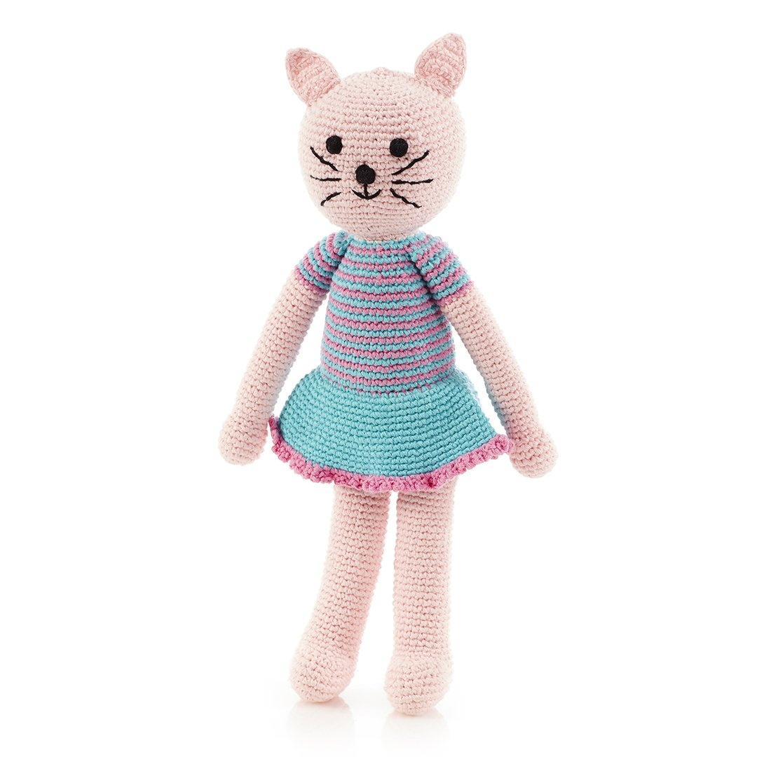 Pebble Crochet Large Girl Cat