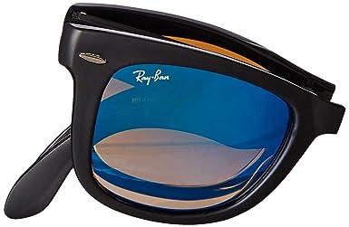 655a8925d11ae Amazon.com  Ray-Ban Men s Folding Wayfarer Sunglasses