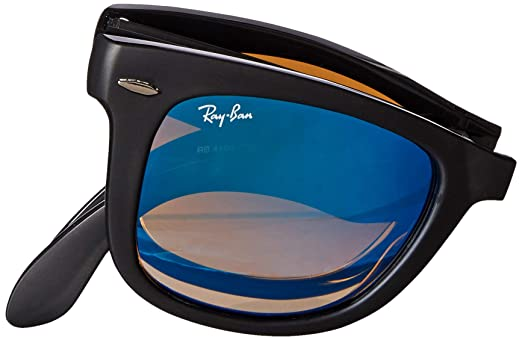 ca687f7cbf7da Amazon.com  Ray-Ban Men s Folding Wayfarer Sunglasses