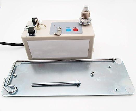 CKPSMS Marca -La devanadora de bobina y el soporte de hilo automáticos de 220V se adaptan a todos los bobinas de tipo universal (KP-SBW01 Europe Plug 220V): Amazon.es: Hogar
