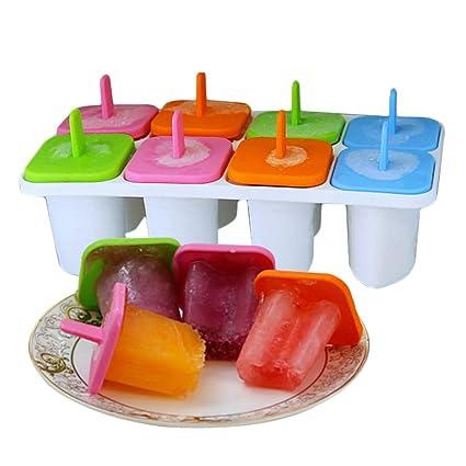 Molde del helado/molde de paletas casera/molde de paleta creativa no tóxico-