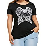 Seamount Womens Plus Size Hollow Out Back Criss