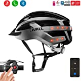 LIVALL Stote MT1 Smart Bike Helmet,Cycling Mountain Bluetooth Helmet,Bluetooth Speakers,Wireless Turn Signals Tail Lights,Walkie-Talkie,SOS Alert,Up to 12hrs Working time Certified and Lightweight