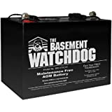 THE BASEMENT WATCHDOG Model BW-27AGM Maintenance Free (AGM) Sump Pump Battery
