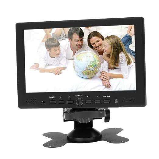 4 opinioni per KKmoon 7 Pollici TFT LED HD Colore Monitore PC/AV HDMI VGA Ricevitore Ingresso