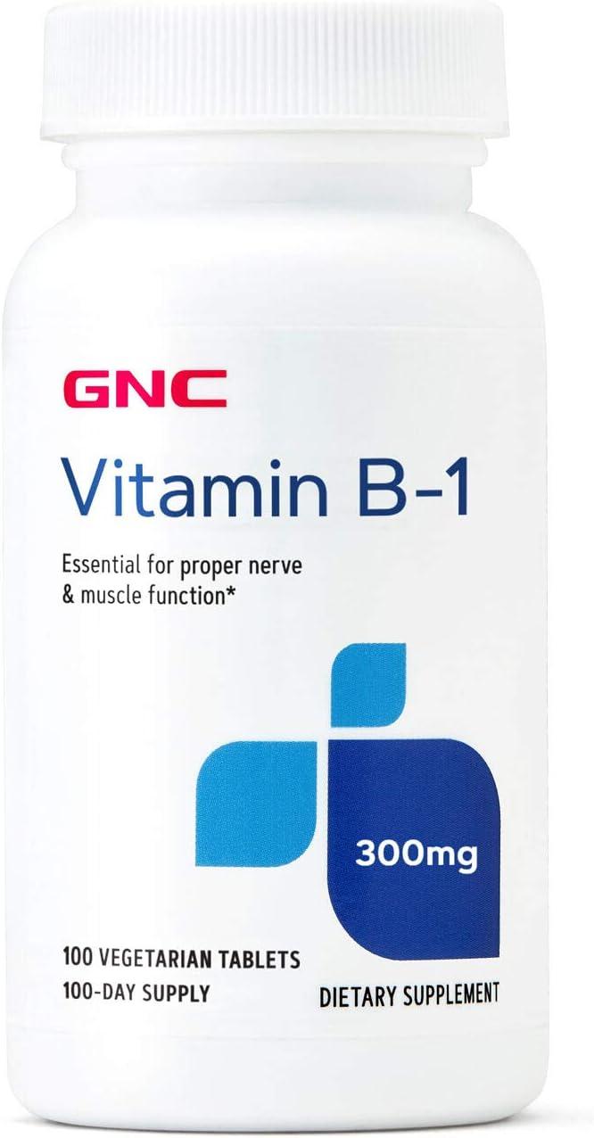 GNC Vitamin B-1 300mg