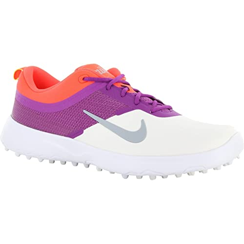 half off 11c16 70a6e Nike Ladies Akamai Golf Shoes 818732-100 Summit WhitePurpleWolf Grey  Amazon.ca Shoes  Handbags