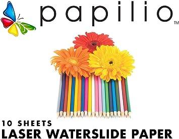 Amazon.com: Papilio - Papel adhesivo para impresora láser ...