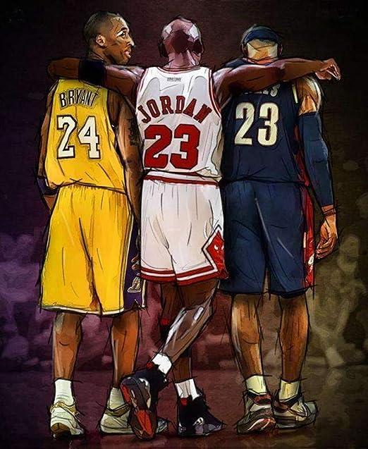 Poster NBA stars Legend Team