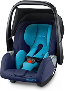 RECARO Privia Evo - Silla de coche, grupo 0+, color xenon blue