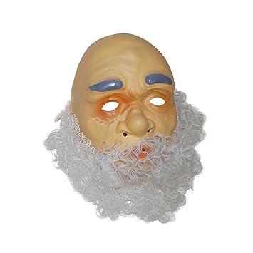 Fiesta Palace-Máscara de Abuelo con barba