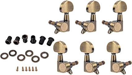 Artibetter 6pcs 3R3L Cuerdas de afinación para afinación de ...