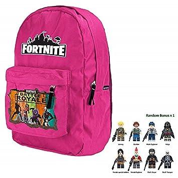 c221af7a83d1 Amazon.com: Battle Royale Premium Backpack with Bonus Minifigure ...