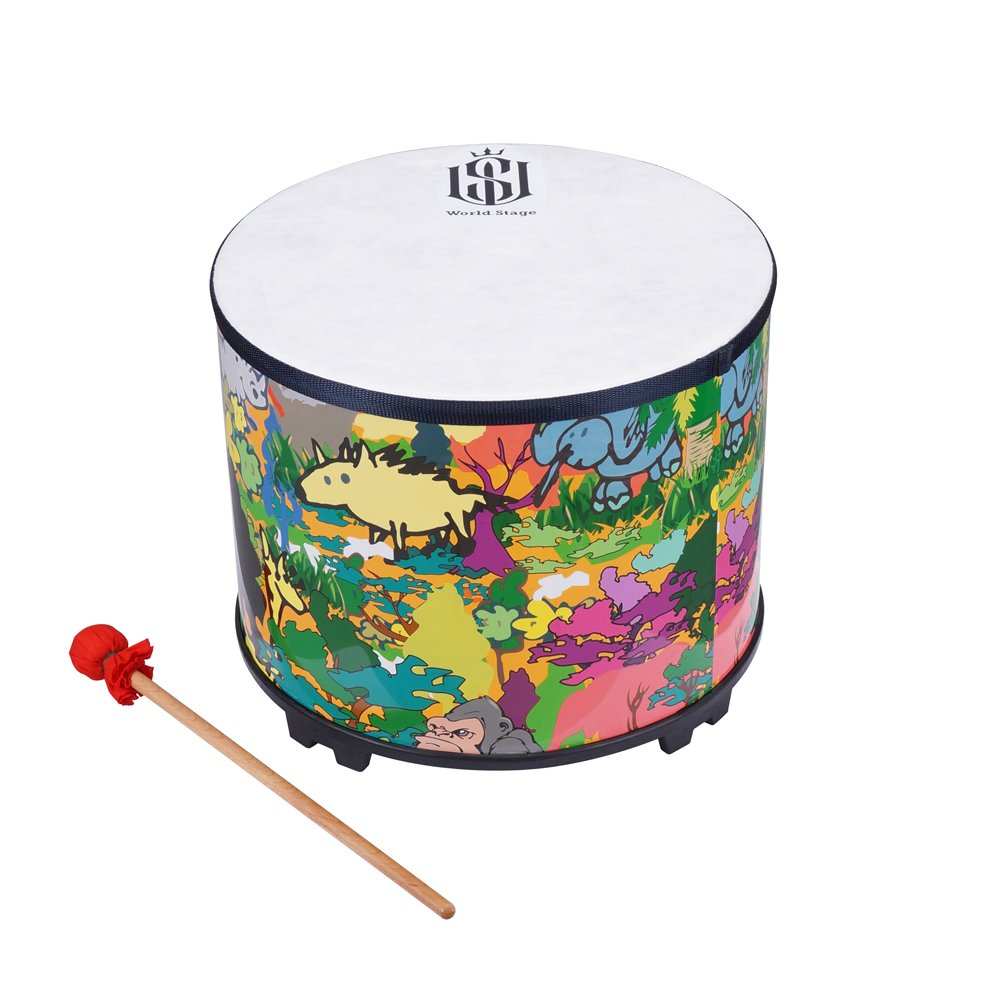 World Stage WS451001 Kids Percussion Floor Tom by World Stage
