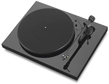 Pro-Ject Debut III - Tocadiscos (Ortofon OM5), negro de alto ...
