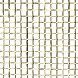 52426731 Import - 36 Gage, 0.009 Inch Wire Diameter, 50 x 50 Mesh per Linear Inch, Brass, Wire Cloth