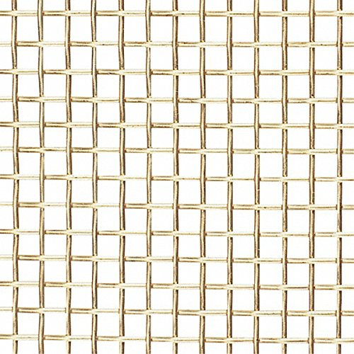 52426731 Import - 36 Gage, 0.009 Inch Wire Diameter, 50 x 50 Mesh per Linear Inch, Brass, Wire Cloth