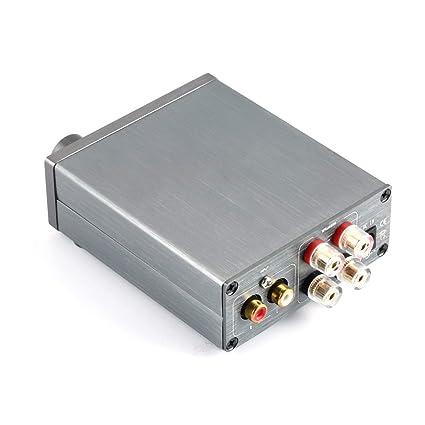 Breeze Amp HiFi Clase 2.0 Amplificador Digital de Audio Estéreo TPA3116 Amplificador de Potencia Avanzado 2