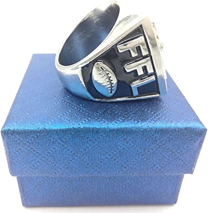 2017 Newest Fantasy Football Championship Rings Trophy Prize Draft