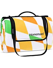 Homemaxs Picnic Blanket 200 x 200cm Waterproof Outdoor Blanket Extra Large XXL Portable Beach Mat Beach Hiking Grass Travel Camping