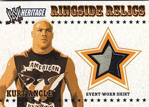 2005 Topps Heritage Ringside Relics Kurt Angle # NM Near Mint MEM from Ringside Relics