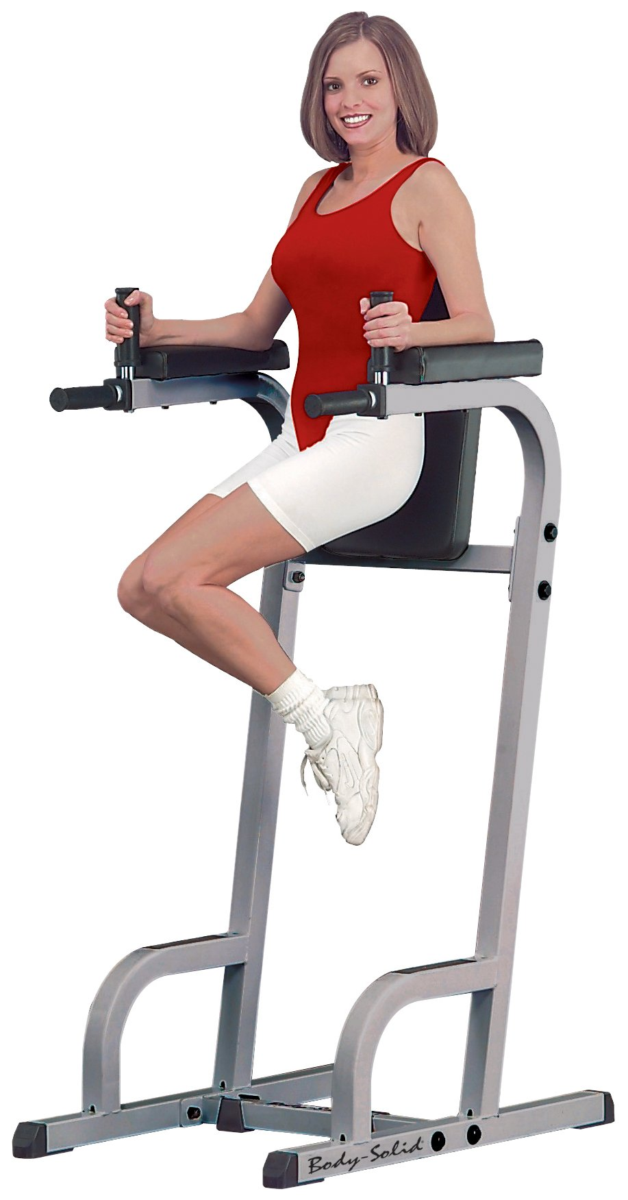 Vertical Knee Raise with Dip Station by Body-Solid