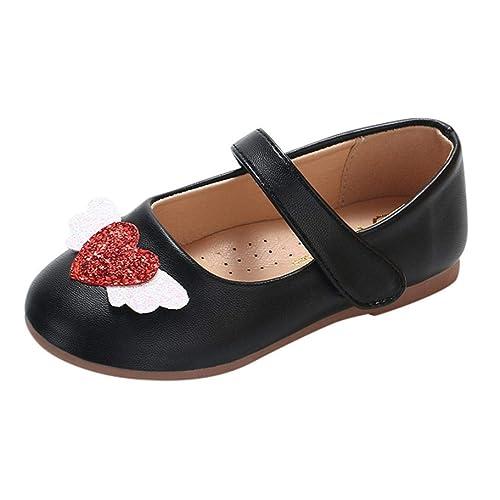 56dcd40df Zapatos para Bebé Niñas Otoño Invierno 2018 Moda PAOLIAN Calzado de  Primeros Pasos Suela Blanda Antideslizante Zapatos de Vestir Princesa Boda  Niñas Fiesta ...