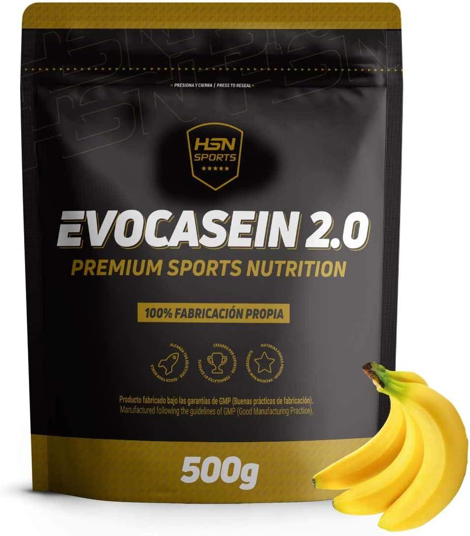 EVOCASEIN 2.0 (CASEÍNA MICELAR + DIGEZYME) 500g PLÁTANO: Amazon.es ...