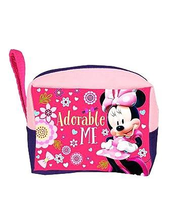 Minnie - Bolsa de aseo Niñas rosa Talla única: Amazon.es ...