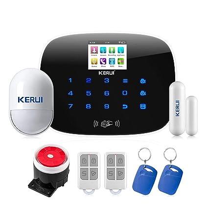 KERUI W193 WiFi 3g GSM sistema de alarma de baja potencia ...
