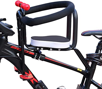 Child Bike Carrier Rear Kid Bicycle Seat Toddler Safety Harness Comfortable Seat