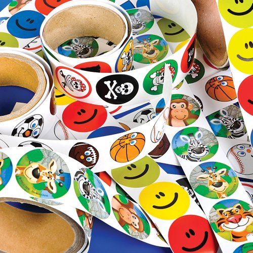 [Sticker Roll Assortment (10 rolls)] (Roll Stickers)