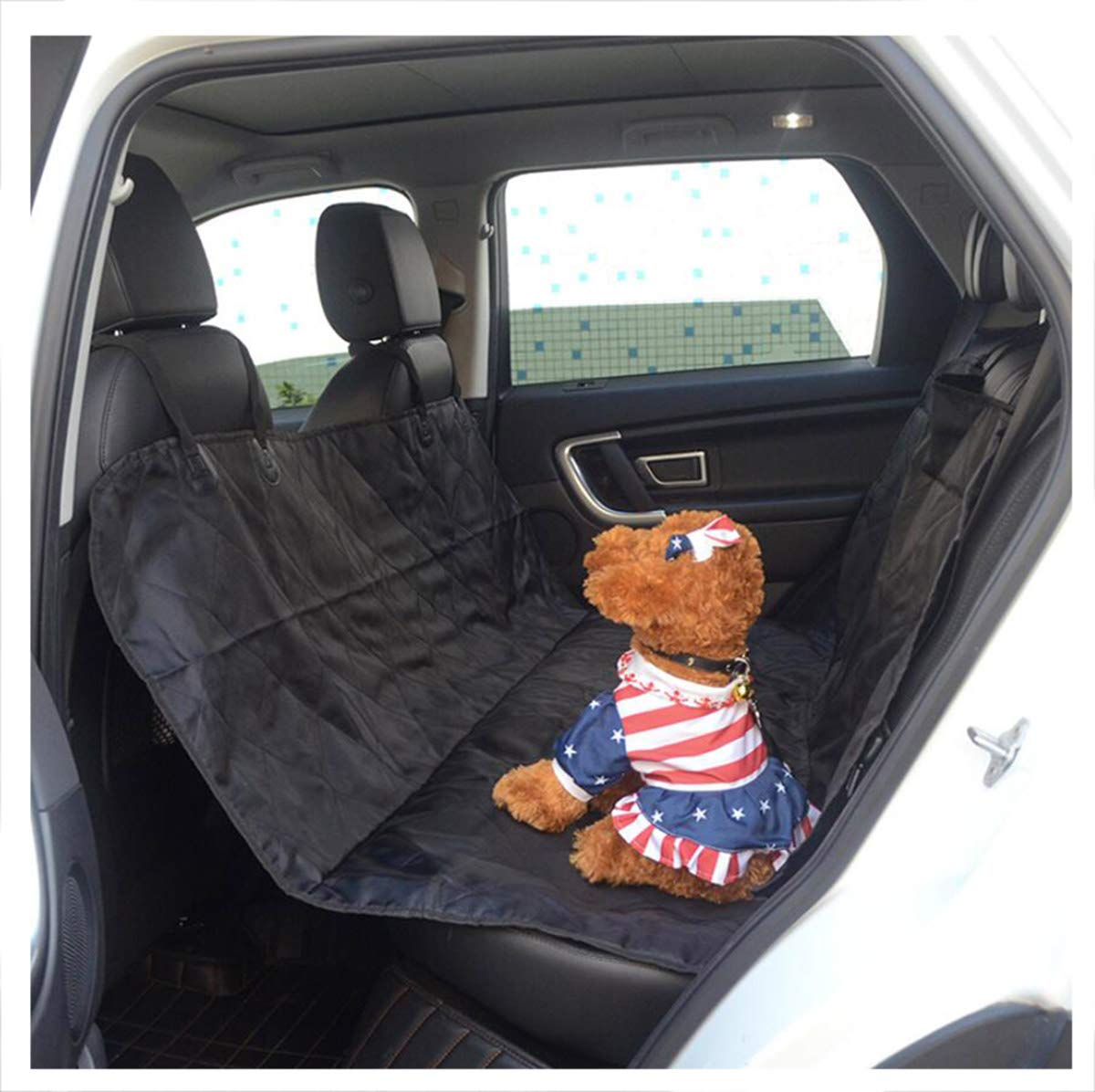 Black 147X135CM Black 147X135CM BYCDD Pet Back Seat Covers, Dog Car Seat Covers Waterproof Cover Predector Durable Scratch Proof Nonslip Predection Against Dirt Fits Most Cars Trucks SUVs,Black_147X135CM