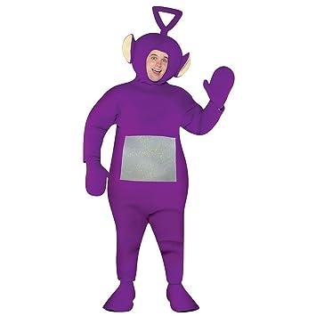 Teletubbies Tinky Winky Costume テレタビーズ ティンキーウィンキー 大人用コスプレ衣装♪ハロウィン♪サイズ: