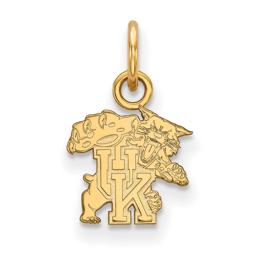Lex /& Lu LogoArt 10k Yellow Gold University of Kentucky XS Pendant LAL131677