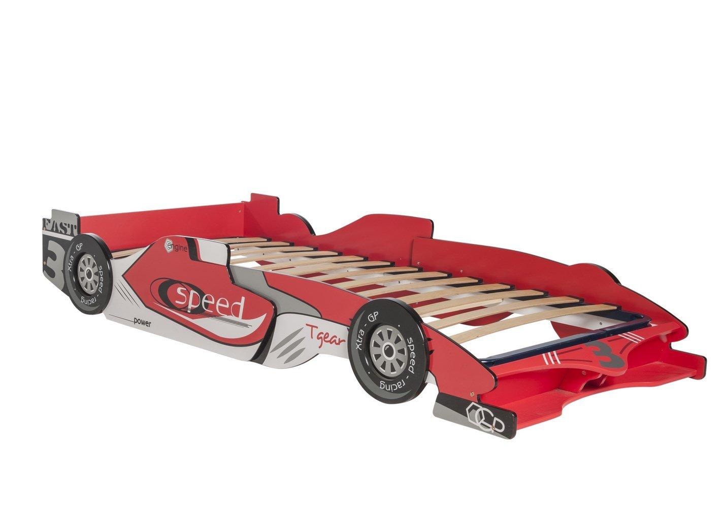 LIQUIDATODO ® - Cama coche juvenil moderna y barata - Castellet: Amazon.es: Juguetes y juegos